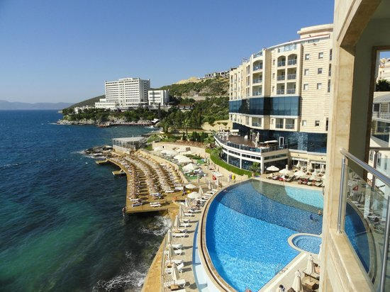 Charisma De Luxe Hotel: Gorgeous view!
