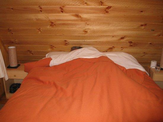 Termas de Aguas Calientes: Nuestra cómoda cama
