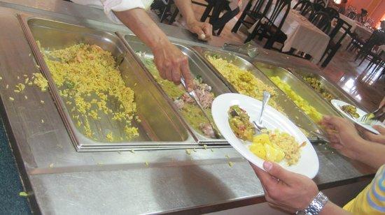 Hammamet Azur Plaza: les 4 plast principale pas de viande