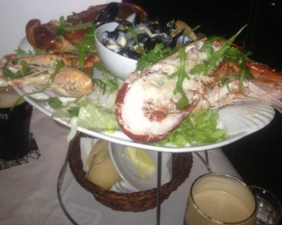 Chez Youen: Seafood Platter