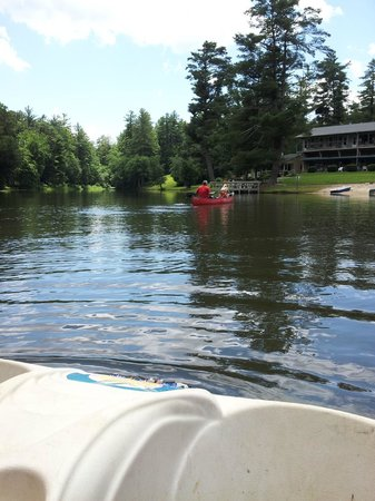 Mill House Lodge : lake area