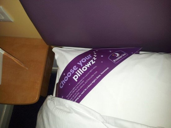 Premier Inn uses leftover pillows to