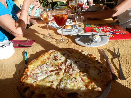 Miel y Nata Mountain: Pizza