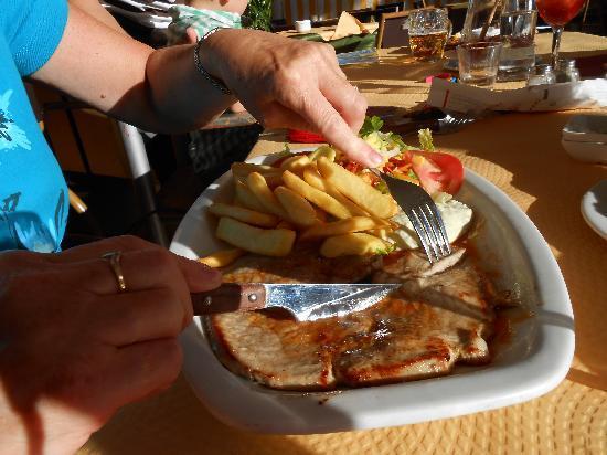 Miel y Nata Mountain: Steak