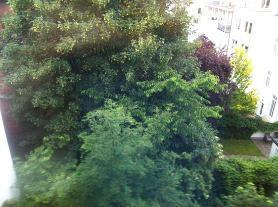 Hotel Wedina: Blick auf den Hof