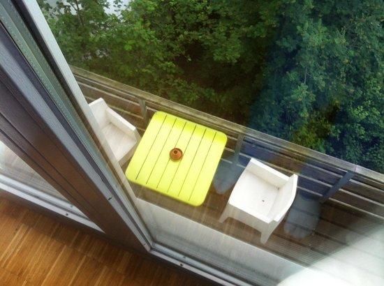 Hotel Wedina: Blick auf den Balkon
