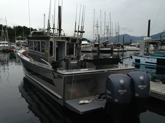 Kingfisher Charters & Lodge: GR-8 Fishing boats