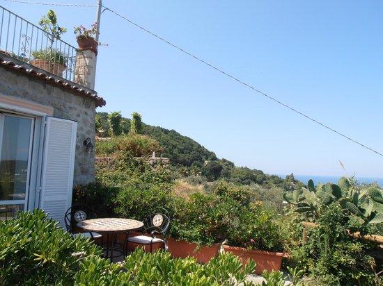 هوتل بوجيو ديل سول: terrazza