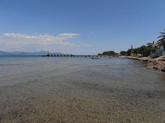 Odysseus & Agnes Apartments: Beach