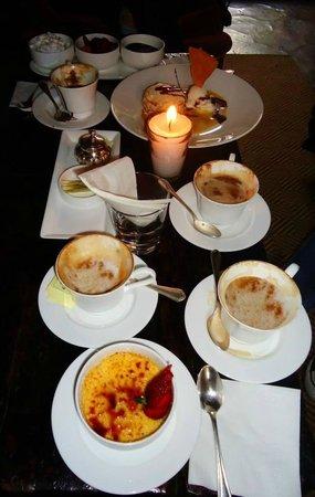 Palacio de Doña Leonor: Exquisite desserts