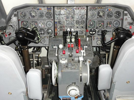 Museu do Ar: Le cockpit accessible d'un avion