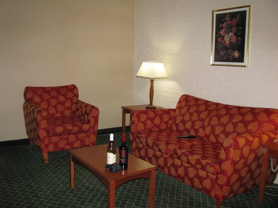 Comfort Inn Syosset by Choice Hotels: Living Room