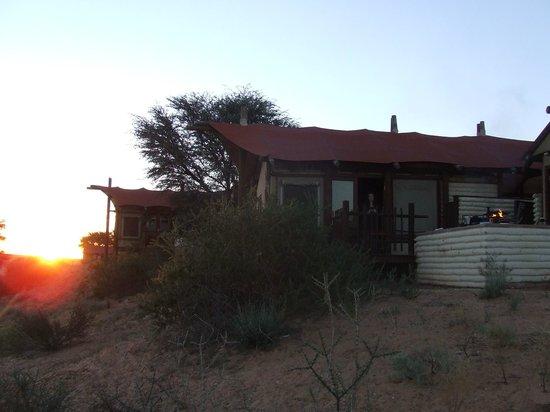 Kalahari Tented Camp: Shot of the house