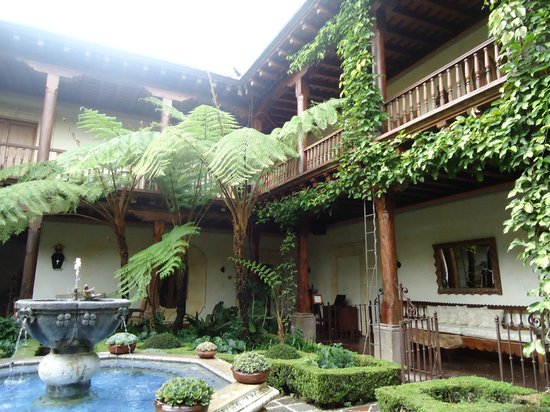 Palacio de Dona Leonor: Little paradise in Antigua Guatemala
