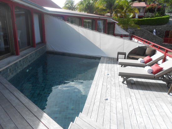 Eden Rock - St Barths: piscine privée