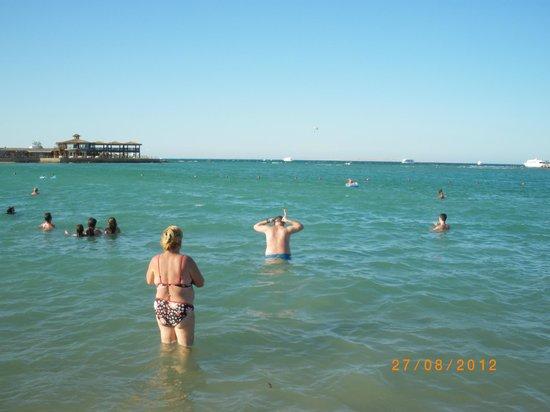 SUNRISE Garden Beach Resort -Select-: Dirty sea :-(
