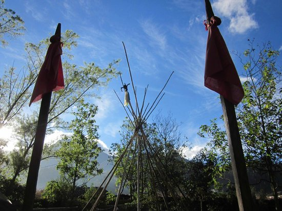 Hostal Aya Huma: Camping area