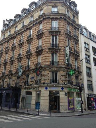 Hotel des Arts Bastille: Veduta dell'hotel