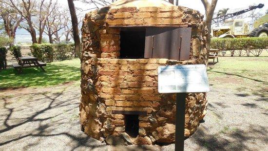 Alexander & Baldwin Sugar Museum : portugese breadmaking oven