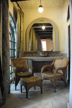 Hacienda del Lago Boutique Hotel: Sitting Area in the Garden Suite