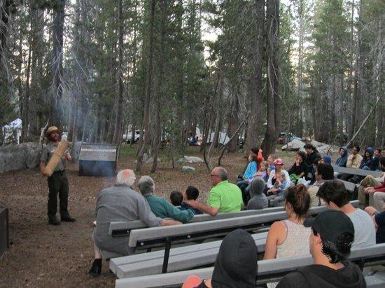 White Wolf Campground : Ranger CampFire Program