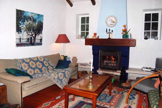 Quinta do Corvo: Lekker knus met de open haard aan!