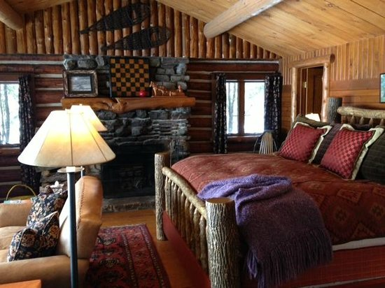 Lake Placid Lodge: Our lakefront cabin