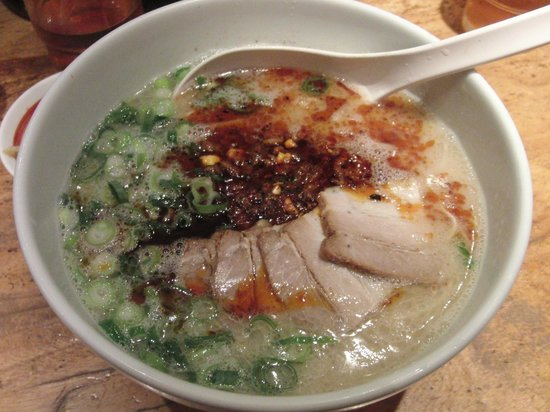 Ippudo Ginza: My meal (Spicy)