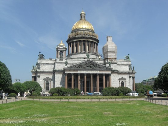 Ludmila Tours - Tours in Russia: Cathédrale Saint-Isaac