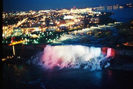 Niagara Falls FROM SKYLON TOWER WITH REVOLVING RESTAURANT Part 52