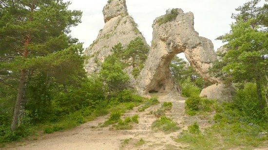 Montpellier-le-Vieux : L'Arche