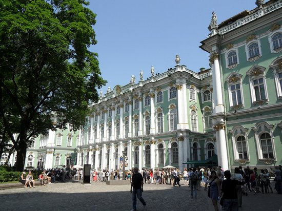 Ludmila Tours - Tours in Russia: Palais d'Hiver