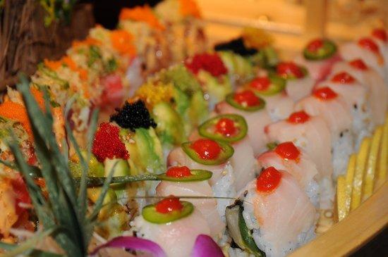 Kumo Japanese Steak House & Sushi Bar: Yummy !