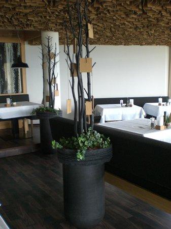 Hotel Gitschberg: Deko im Speiseraum
