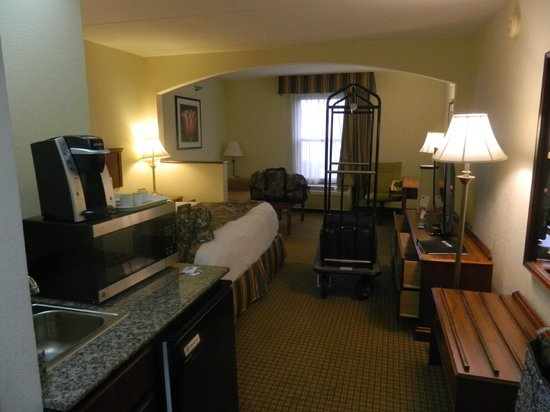 Best Western Suites Near Opryland: our room