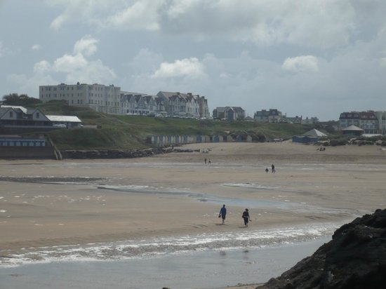 The Beach at Bude: The Beach