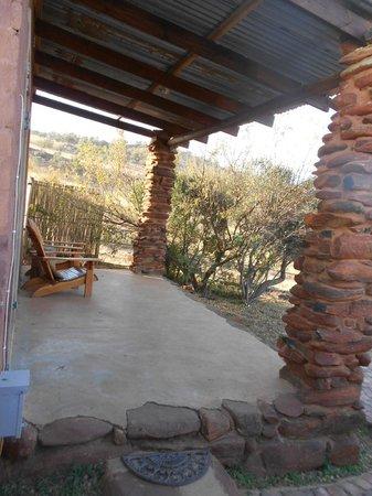 Saamrus Guest Farm: patio