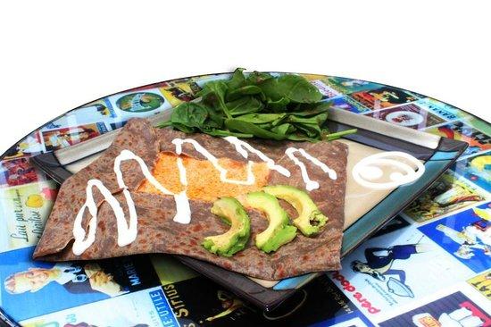 Le Pinche Francés: Crepa salada Yiyo (amaron-chipotle)