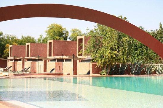 Hôtel Dar Sabra Marrakech : Vue Suites Supérieurs