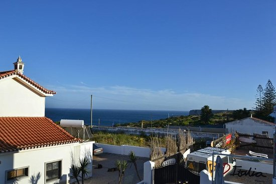 Mareta Beach Boutique Bed & Breakfast : The view from our terrasse