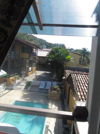 Pousada Kilandukilu: vista desde mi balcon