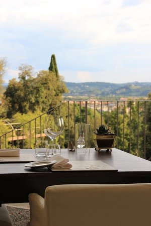 Il Salviatino : On the terrace agian