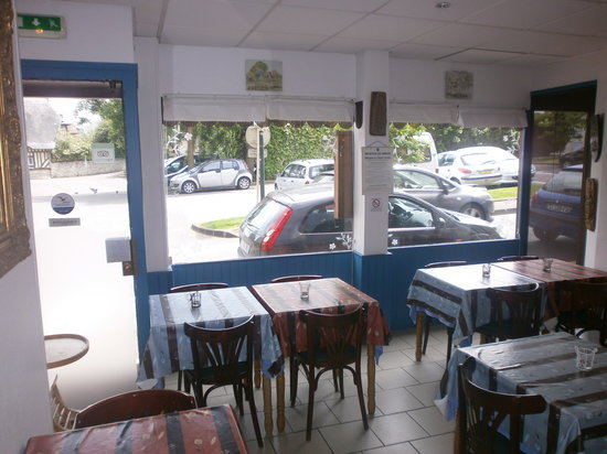 Au Normand: salle de petit dejeuner