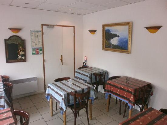 Au Normand: la salle de petit dejeuner