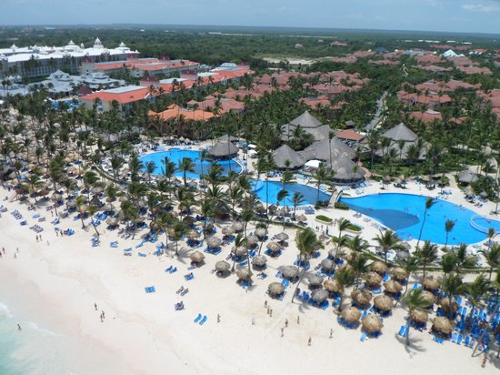 Luxury Bahia Principe Ambar Don Pablo Collection: From the sky