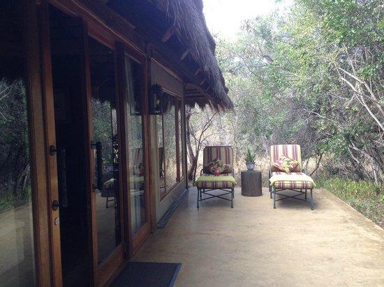 Camp Jabulani: External area