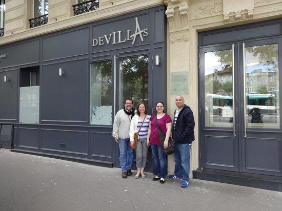 Hotel Devillas: Frente al Hotel