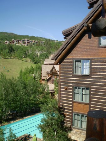 The Ritz-Carlton, Bachelor Gulch: View from our balcony