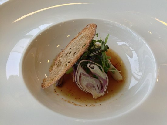 Restaurant Matisse: Jakobsmuschel