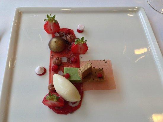 Restaurant Matisse: Erdbeervariation